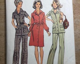 Simplicity 5735 vintage pattern size 14 bust 36 waist 28 CUT