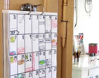 Retro Kühlschrank Dunkelrot : Kühlschrank kalender etsy