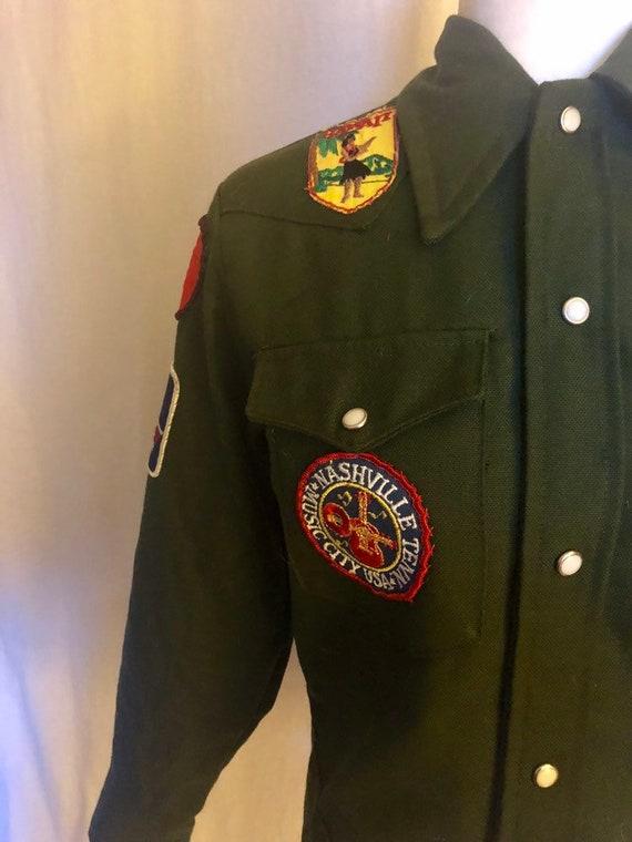 Vintage Vtg 70s Patch Patchwork Jacket