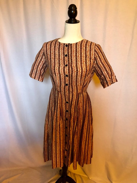 Beautiful 50s Vintage Day Dress