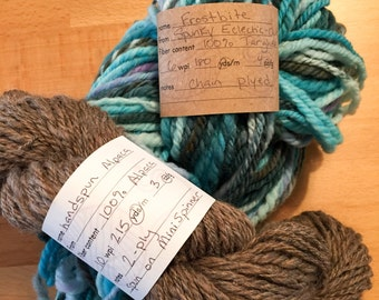 Tags for Handspinning