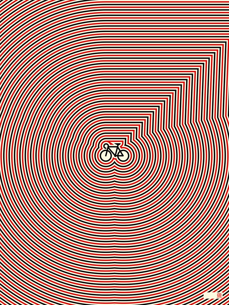 Op Art Bike image 0