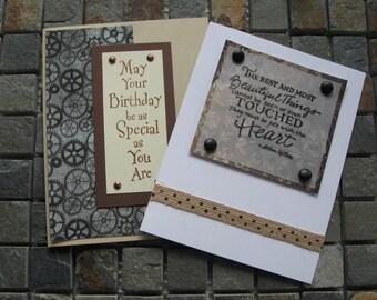 birthday and heartfelt blank cards