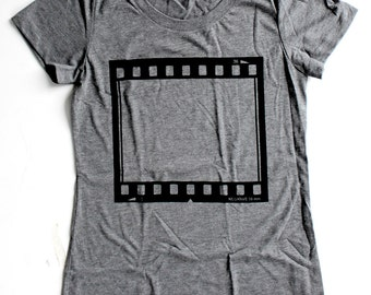 35 MM Film Negative WOMENS T Shirt - Available in S M L XL and two colors