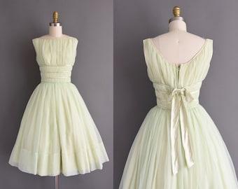 Vintage 1950s Yellow Prom Dresses