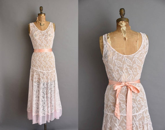 Robe Des Annees 30 Robe Vintage Des Annees 1930 Robe De Etsy