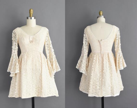 vintage 1960s | Adorable Lolita Ivory Cotton Lace