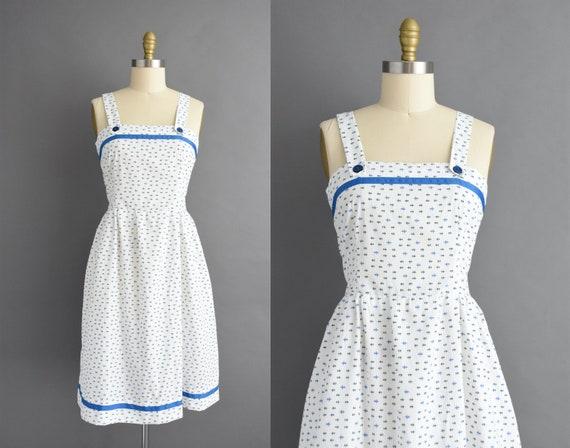 vintage 1980s | Sumer White Cotton Sleeveless Sun