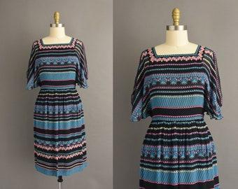 vintage 1980s | Gorgeous Maxi Librati Fluttery Chiffon Sleeves Cocktail Party Wiggle Dress | Medium | 80s dress