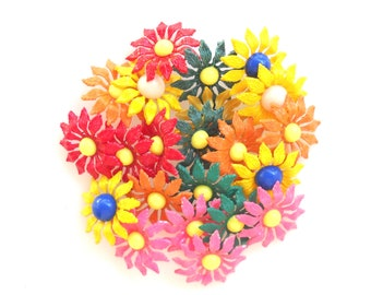 Flower Hairpins,  Flower Girl Haipins, Hair pins, Bobby Pins, Flower Hair Accesory, Flower pins, Hair Clip, Wedding Hairpin,