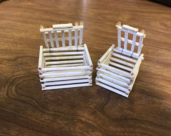 Miniature Crates for the Dollhouse
