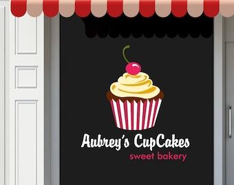 Store Front Window Decals, Store Window Graphics, Business Logo Window Decal, Custom Boutique Window Decals