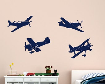 sc 1 st  Etsy & Plane wall decal | Etsy