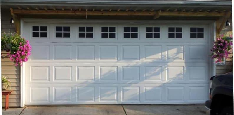 Garage Door Windows Decals Garage Faux Window Decals Etsy