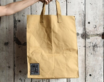 f4d1ea066c4b Marlowe Lunch Bag Waxed Canvas Lunch Tote Resuable Zero