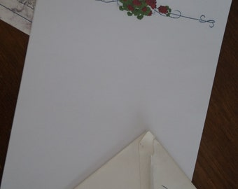 Print Your Own! Geranium Stationery Download