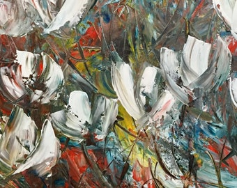 Painting - Flower - Abstract