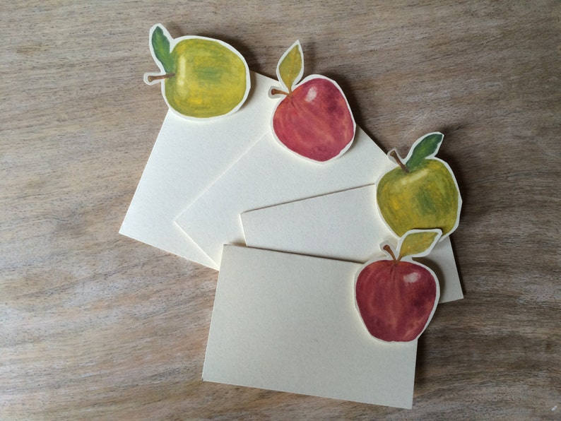 Green Apple Tent Menu Card -weddings events Escort Card Table Number Card Place Card Gift Card