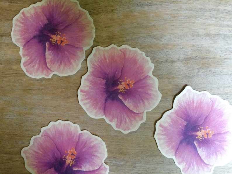 Hibiscus Flower Prints Decorations For Weddings And Events Etsy