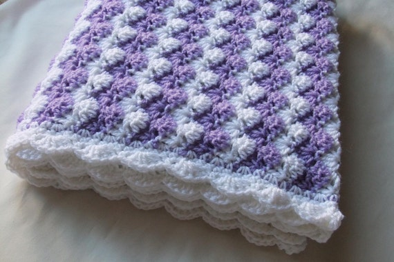 Mädchen Babydecke Crochet Decke Baby Girl-Dusche-Geschenk | Etsy