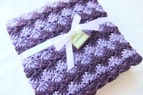 Mädchen Babydecke Babydecke Häkeln Crochet Decke Baby Etsy
