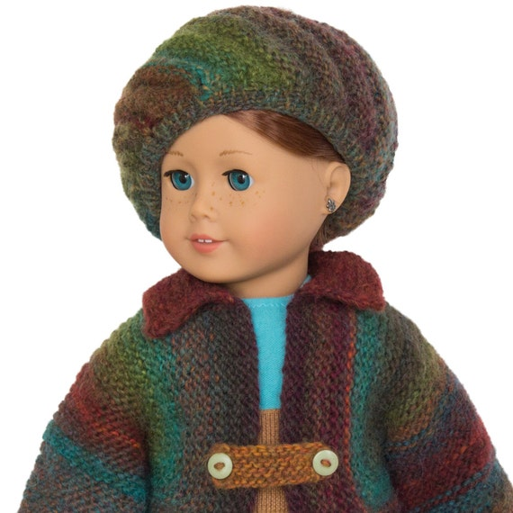18 Inch Doll Winter Jacket Knitting Pattern For American Girl Doll