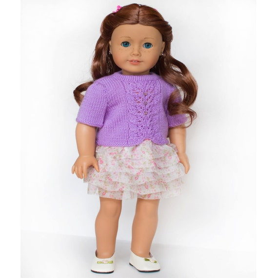 Doll Clothes Pattern Knitting Pattern For American Girl Doll Doll