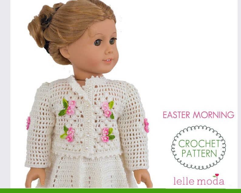 18 Inch Doll Clothes Crochet Pattern Skirt And Top Set For Etsy