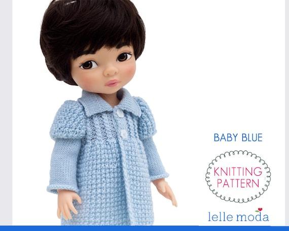 Knitting Pattern For Disney Animators Dolls 16 Inch Doll Etsy