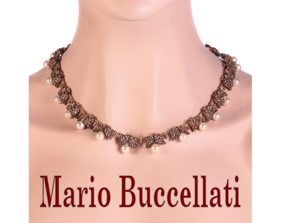 Mario Buccellati Vintage Fifties Gold and Silver P