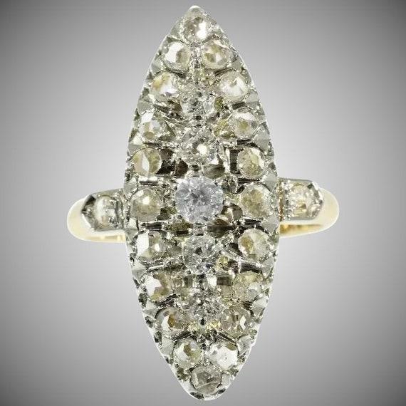 marquise bague diamant
