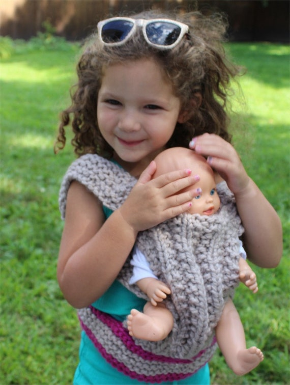 Knitting Pattern Baby Doll Carrier Knitting Pattern Pdf Diy Instructions