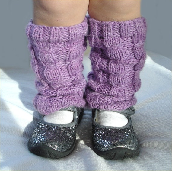 Knitting Pattern Cabled Leg Warmers Pdf Etsy