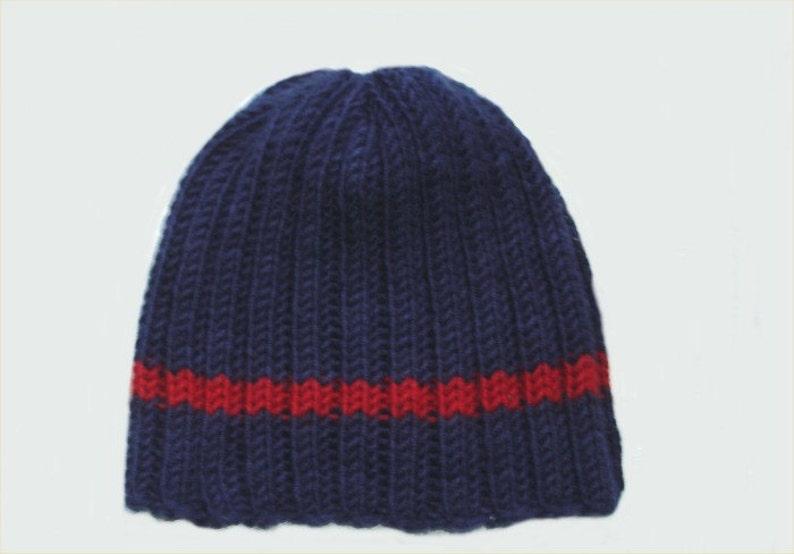 afdd256514925b Hat KNITTING PATTERN Classic Men's Hat pattern PDF | Etsy