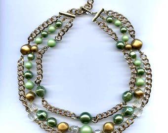 Trio Strand Necklace
