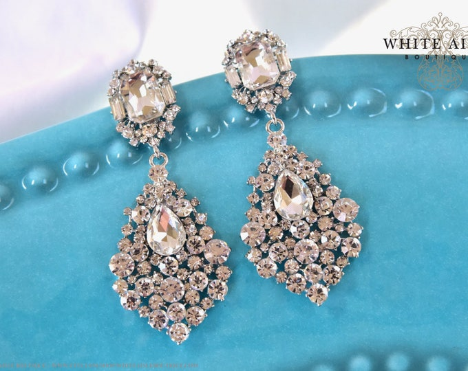 Bridal Earrings Wedding Chandelier Statement Earrings Special Occasion Jewelry Accessories