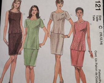 McCalls 2121- Top and Skirt pattern