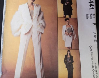 McCalls 3441 - Jacket, Top, Skirt and Pant pattern