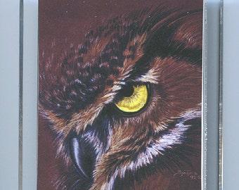 Mystic Owl Key Chain