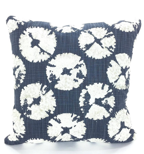 Nautical Pillow Covers Navy Blue White Decorative Pillows Etsy Inspiration Navy And White Decorative Pillows