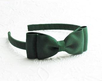 Patricks Day HeadbandBow HeadbandInfant HeadbandNewborn HeadbandBaby HeadbandGreen Baby Bow Green Bow HeadbandGreen Baby HeadbandSt