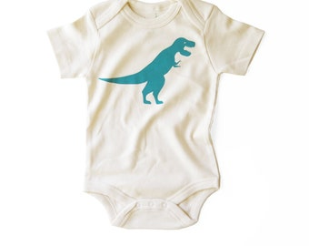 4d500243c T-rex | Organic Baby Bodysuit | Dinosaur | Tyrannosaurus Rex | Screen  Printed Baby Clothing | Organic Baby Clothes | Infant One Piece