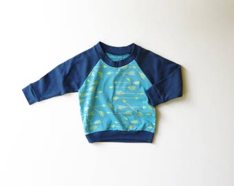 50% OFF | 12-18 months | Organic Cotton Kids Arrow Raglan | Arrows | Toddler Shirt | Unisex Babies Shirt | Screen Printed | Long Sleeve