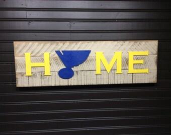 St. Louis Blues HOME plaque, sign