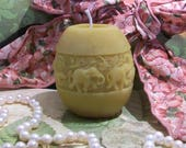 Beeswax Elephant Candle Smaller Size 2 1 2 quot Tall