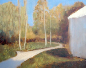 Oil Painting Landscape by Kuba Ambrose