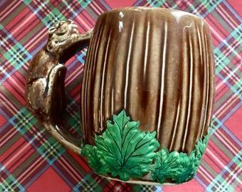 Vintage Canadian Beaver Mug / Woodland Mug / Canadiana
