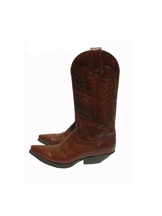 Ähnliche Artikel wie Vintage Cowboy Boots Mens Botas Jaca