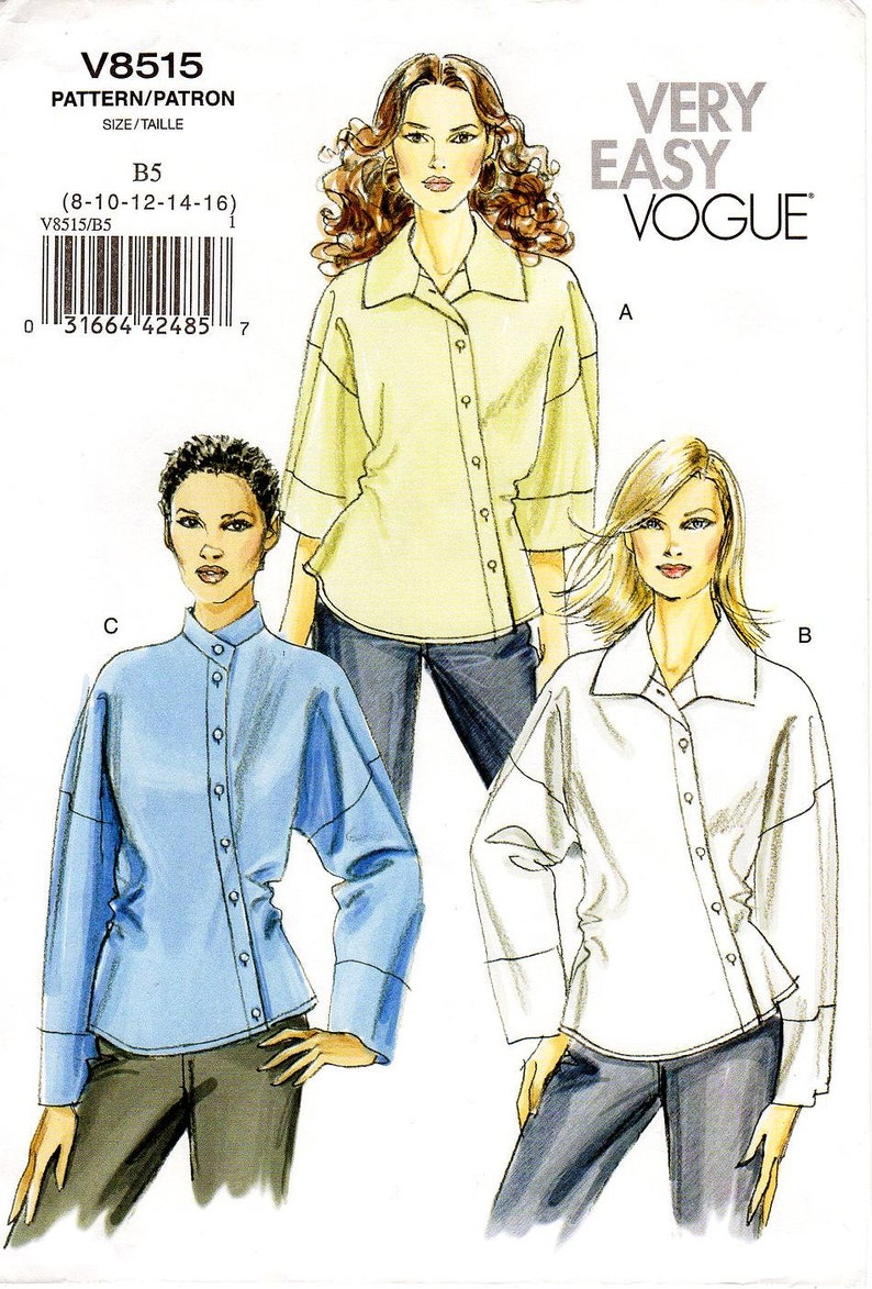 Many VOGUE Misses Choose Your Pattern Cut//Complete