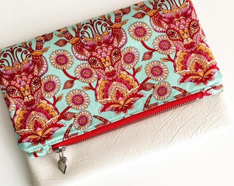 Fold Over Party Clutch Ladies Purse Wallet